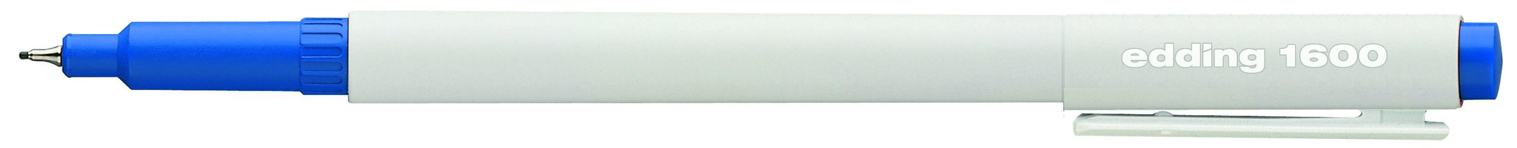 grün edding 1600 Fineliner 0,3 mm /& 0,5 mm in schwarz blau rot