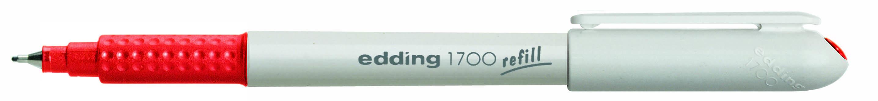 edding 1700 M Fineliner 0,5mm in schwarz grün rot blau