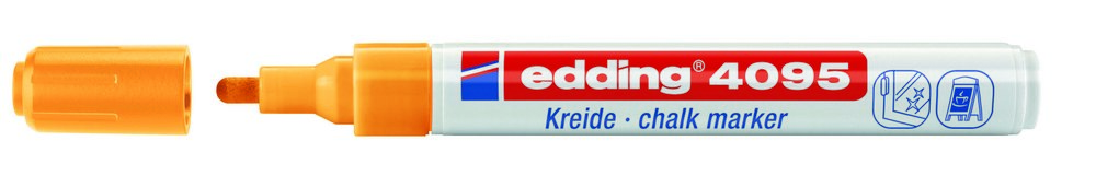 edding 4095 kreidemarker window marker strichbreite 2 3 mm farbe w hlbar ebay. Black Bedroom Furniture Sets. Home Design Ideas
